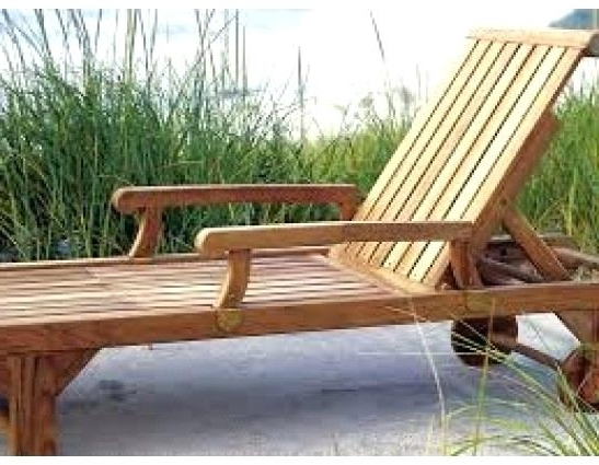 Latest Hardwood Chaise Lounge Chairs With Gorgeous Teak Wood Chaise Lounge Chairs Colbycolby Co (View 6 of 15)