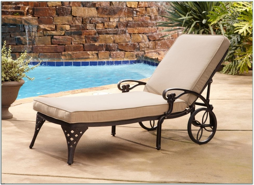 Latest Heavy Duty Outdoor Chaise Lounge Chairs Pertaining To Lounge Chair : Folding Lawn Chairs Sturdy Outdoor Chaise Lounge (View 7 of 15)