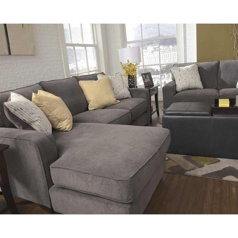 Latest Hodan Sofas With Chaise With Ashley Furniture Hodan Fabric 2 Piece Sectional In Marble –  (View 11 of 15)