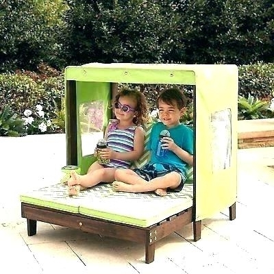 Latest Idea Outdoor Kids Furniture For Outdoor Lounge Chair With Canopy Intended For Children's Outdoor Chaise Lounge Chairs (View 12 of 15)