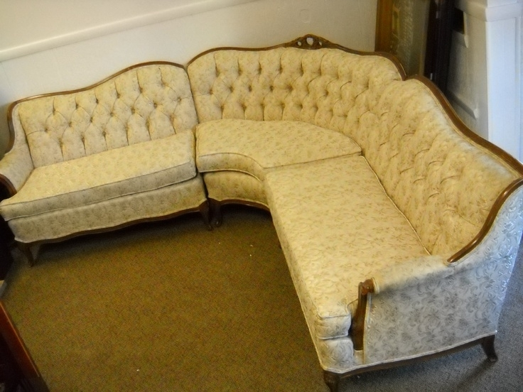 Latest Impressive 94 Best Sofa So Good Images On Pinterest French Antique Inside Vintage Sectional Sofas (View 5 of 10)