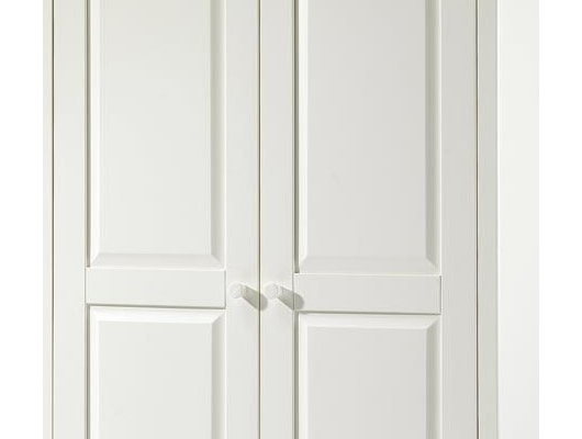 Latest Julian Bowen Wardrobes With Julian Bowen White Cameo 2 Door Wardrobe (View 7 of 15)