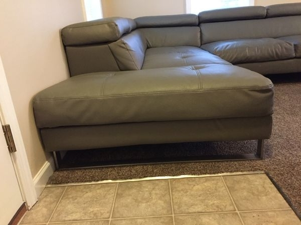Latest Lancaster Pa Sectional Sofas For Charcoal Grey Leather Sectional Couch (Furniture) In Lancaster, Pa (View 6 of 10)