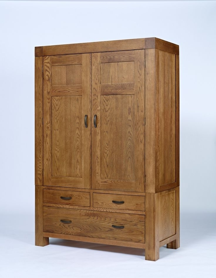 Latest Large Oak Wardrobes Throughout 8 Best French Wardrobe Images On Pinterest (View 9 of 15)