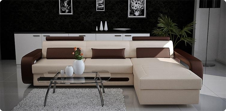 Latest Mississauga Sectional Sofas With Regard To Modern Custom Leather Sofa – Sectional Sofas And Sofa Furniture In (View 3 of 10)