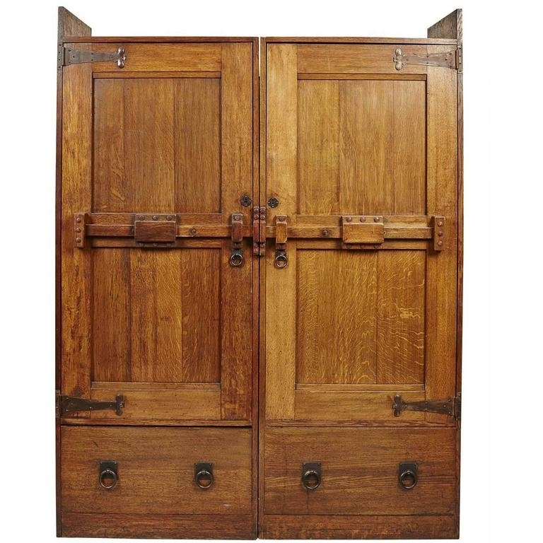 Latest Oak Wardrobes For Sale Intended For Wylie And Lochhead (View 5 of 15)