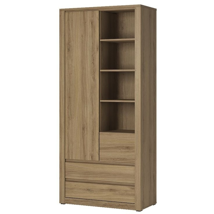 Latest Oak Wardrobes With Drawers And Shelves With Regard To 156 Best Wardrobes (Adult Bedroom) Images On Pinterest (View 5 of 15)