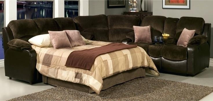 Featured Photo of Pull Out Beds Sectional Sofas