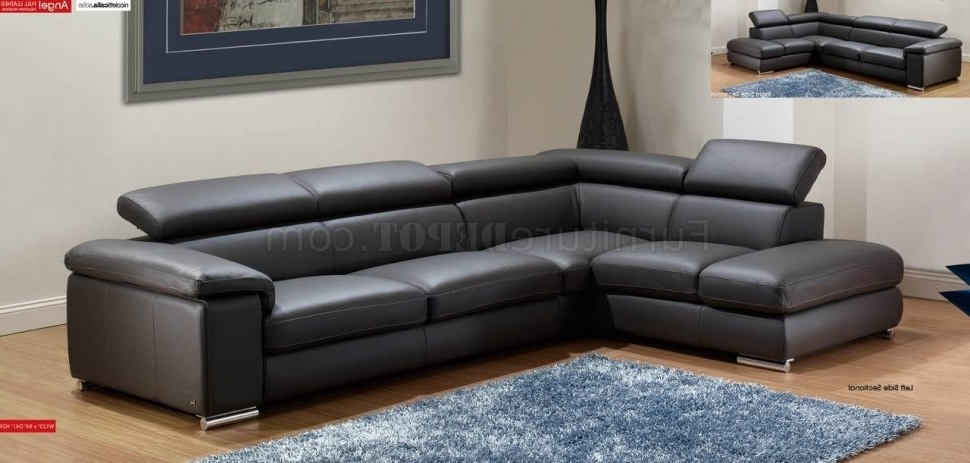 Latest Quebec Sectional Sofas Regarding Furniture : Dazzling Home Divani Casa Quebec Modern Dark Grey Eco (View 3 of 10)