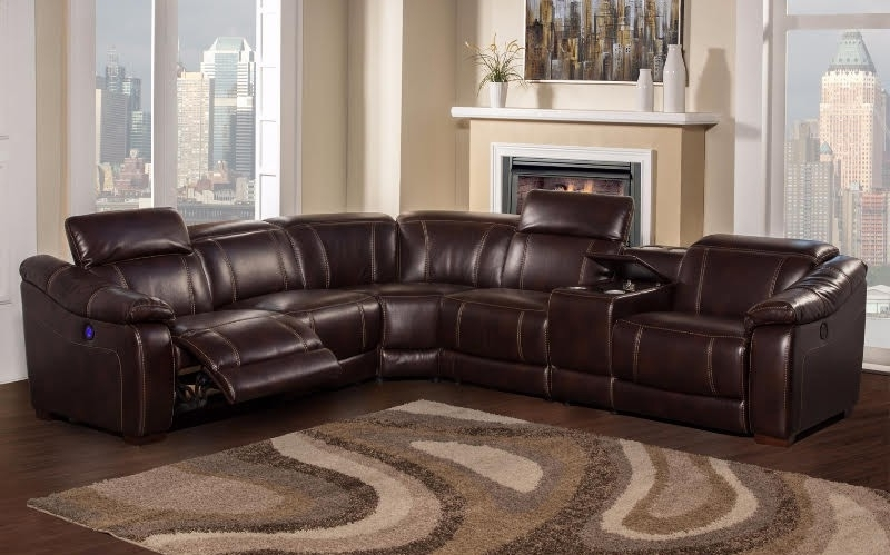 Featured Photo of 6 Piece Leather Sectional Sofas