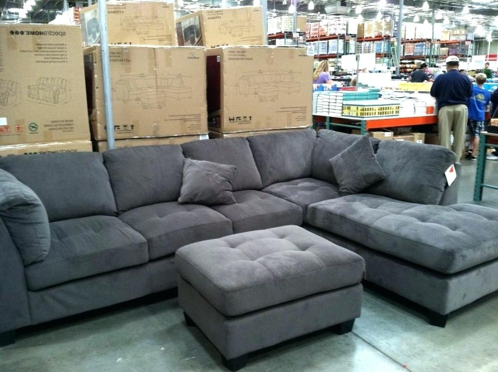 Latest Sectional Sofas At Costco Intended For New Gray Sectional Sofa Costco Or Photos Sofas Grey In Couch Ideas (View 2 of 10)