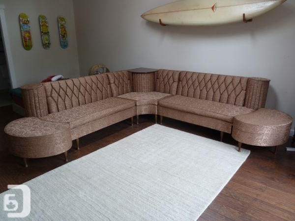 Latest Victoria Bc Sectional Sofas Within Mid Century Retro Vintage 1950S Sectional Sofa – (Tofino) For Sale (View 5 of 10)