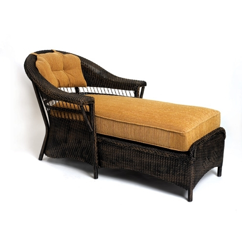 Latest Wicker Chaise Lounges Regarding Lloyd Flanders Wicker Furniture – Wicker Chaise Lounges Collection (View 11 of 15)