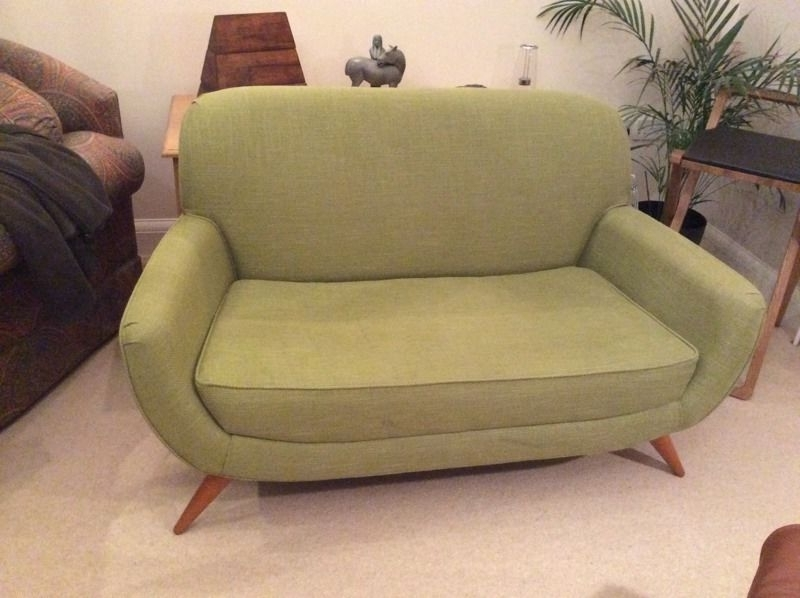 Laura Ashley Colinton Small 2 Seater Sofa/love Seat, Midcentury Regarding Famous Small 2 Seater Sofas (View 5 of 10)