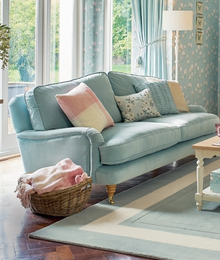 Laura Ashley With Best And Newest Chintz Sofas (View 6 of 10)