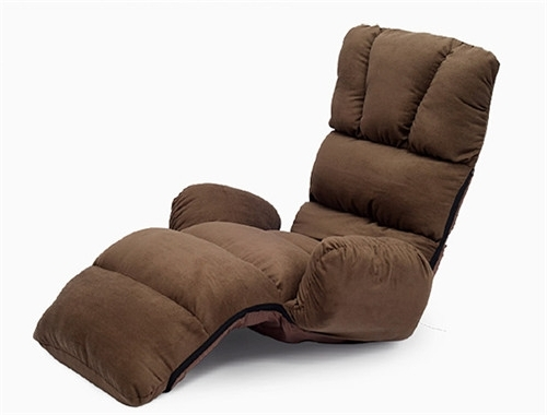 Lazy Sofa Chairs In Most Popular Upholstered Armchair Floor Seating Furniture 4 Colors Modern (View 2 of 10)