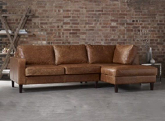 Leather Chaise Sofas: Handmade From Real, Top Grain & 50+ Colours Within Most Popular Leather Chaise Sofas (View 9 of 15)