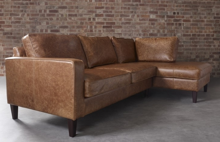 Leather Chaise Sofas Throughout Recent Perfect Leather Chaise Sofa – Interiorvues (View 13 of 15)