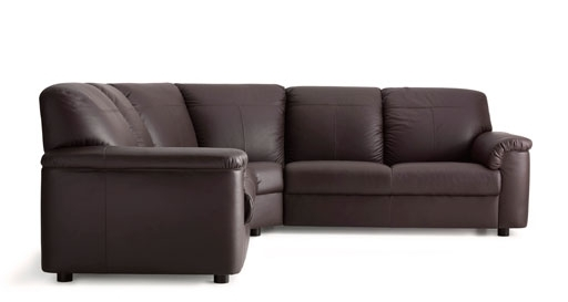 Leather & Coated Fabric Corner Sofas (View 5 of 10)