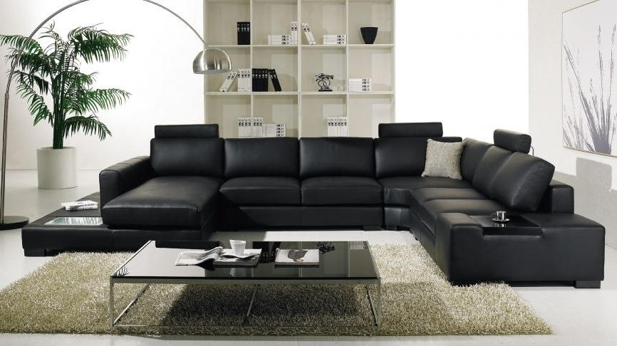Leather Lounge Sofas In Trendy $2699 Hollywood Leather Corner Lounge (View 5 of 10)