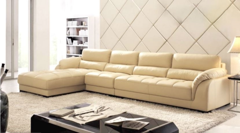 Leather Sectional (View 9 of 10)