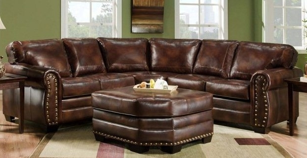 Leather Sectional Sofas Intended For Favorite Leather Sectional Sofas To Enrich Any Room (View 3 of 10)