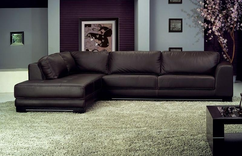 Leather Sectional Sofas With Chaise Lounge Images Leather Leather Within Popular Sectional Sofas With Chaise Lounge (View 11 of 15)