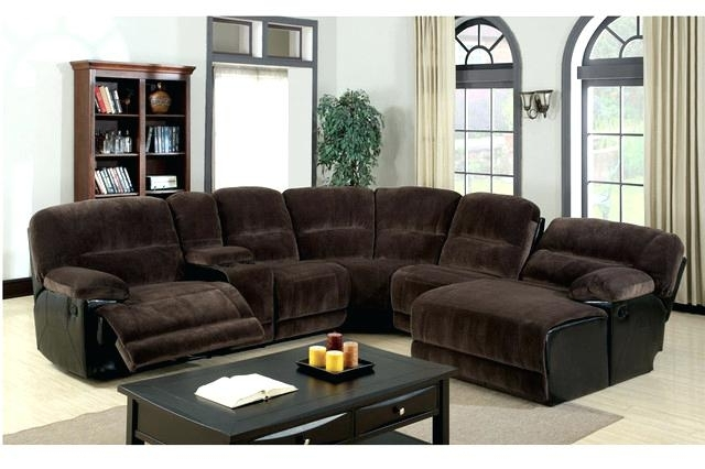 Leather Sectional Sofas With Recliners And Chaise Homelegance Pertaining To Fashionable Leather Sectional Sofas With Chaise (Gallery 15 of 15)
