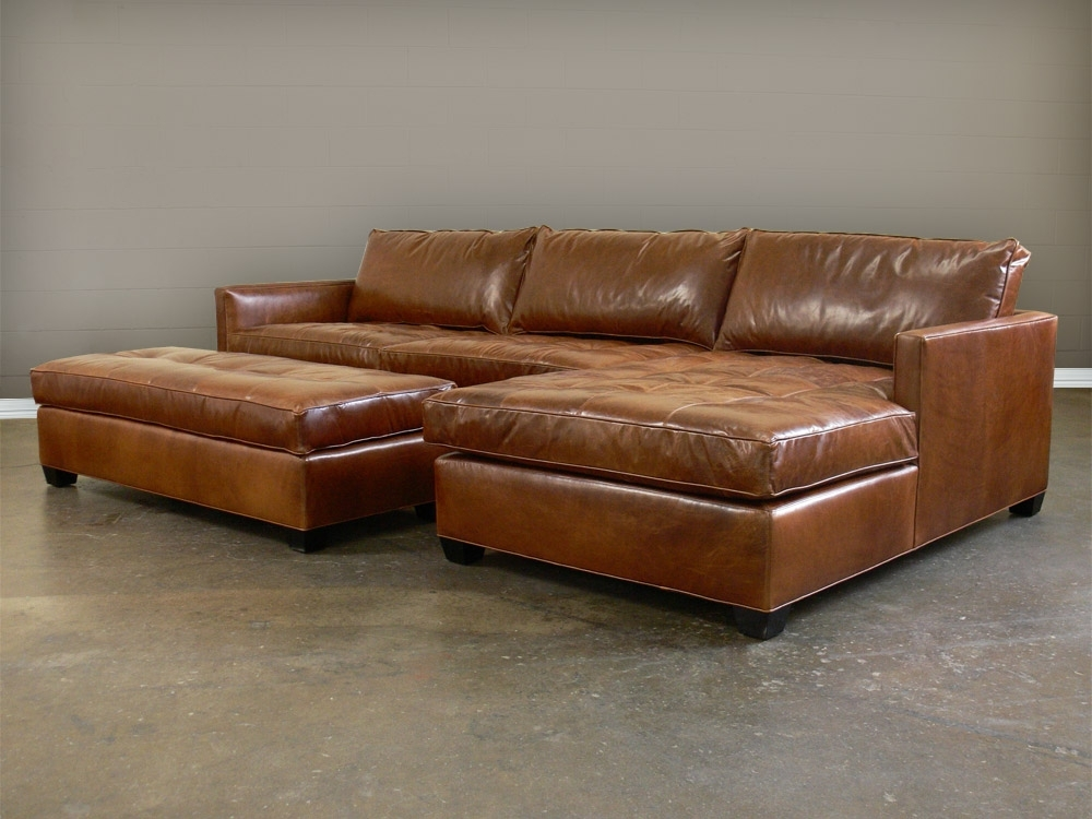 Leather Sectionals With Chaise With Regard To Famous Lovely Leather Chaise Sofa Nice Brown Leather Leathergroups (Gallery 4 of 15)