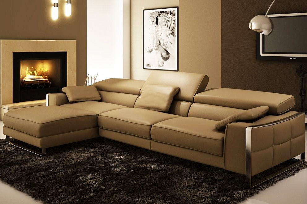 Leather Sectionals With Regard To Leather Sectional Sofas (View 4 of 10)
