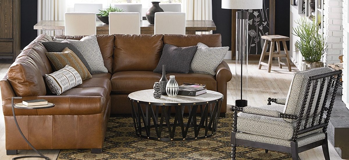 Leather Sectionals Within Most Recently Released Scarborough Sectional Sofas (View 3 of 10)