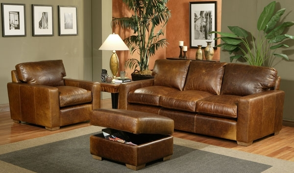 Leather Sectionals (View 4 of 10)