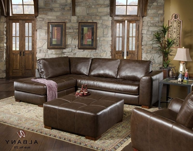 Leather Sofa Chaises Intended For Best And Newest Jerome's Furniture Living Room Featuring The Cocoa Collection (View 6 of 15)