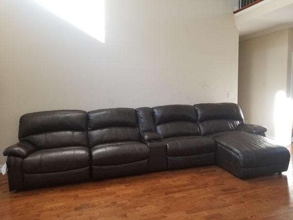 Leather Sofa (Furniture) In Clarksville, Tn – Offerup Inside 2017 Clarksville Tn Sectional Sofas (View 9 of 10)