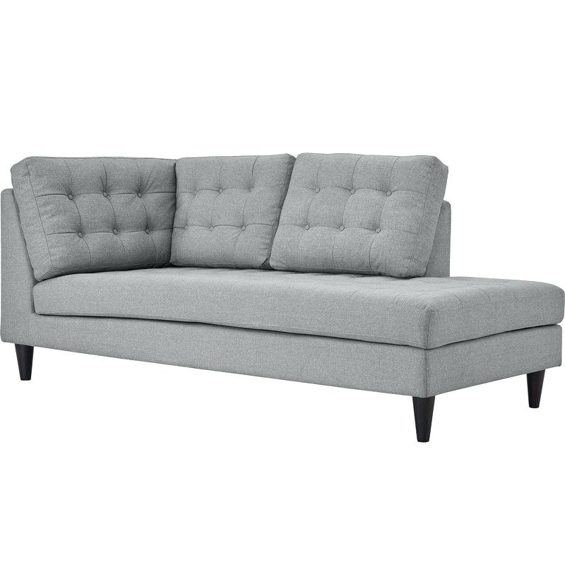 Left Arm Chaise Lounges For Well Liked Chaise Lounge Upholstered Warren Upholstered Left Arm Chaise (View 3 of 15)