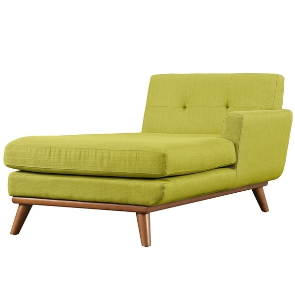 Left Arm Chaise Lounges Regarding Most Up To Date Engage Left Arm Mid Century Chaise Lounge – Free Shipping Today (View 11 of 15)