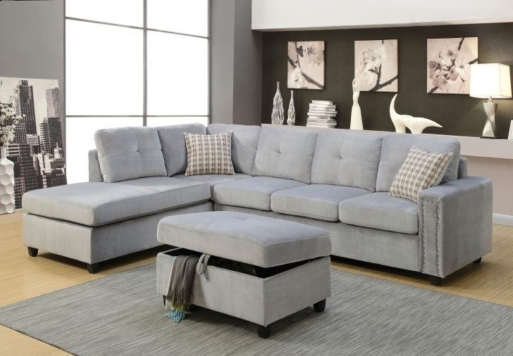 Leons Sectional Sofas With Trendy Grey Sectional Sofas Sofa Belville And Ottoman Leons Light Canada (View 10 of 10)