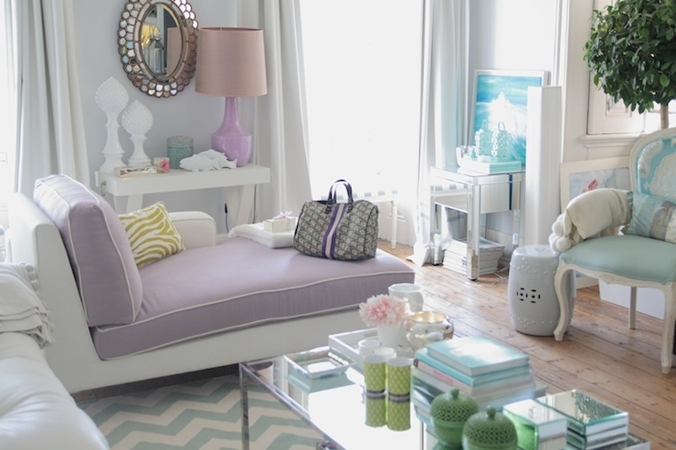 Living Room Chaises Throughout Favorite Purple Chaise Lounge – Contemporary – Living Room – Ana Antunes (View 9 of 15)
