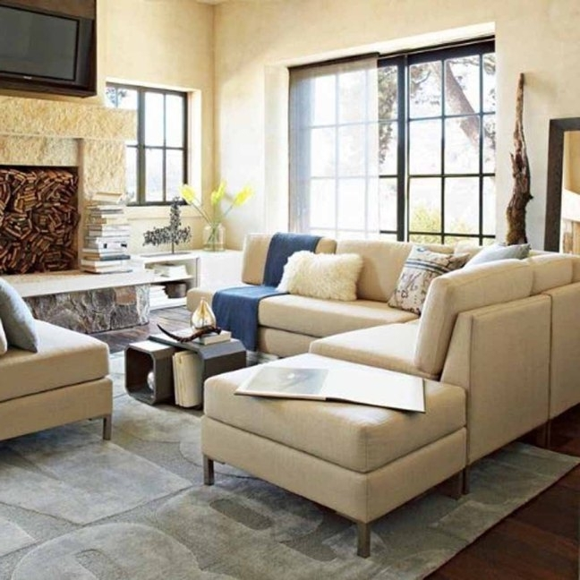 Living Room: Extraordinary Sectionals For Small Living Rooms Decor In Most Recently Released Sectional Sofas For Small Living Rooms (View 3 of 10)