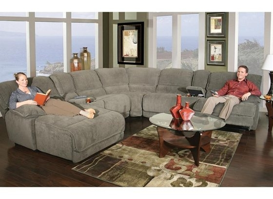 Living Room With Kanes Sectional Sofas (View 9 of 10)