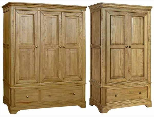 Loire Oak Wardrobes – Buy Online At Bestpricebeds Pertaining To 2017 Oak Wardrobes (View 3 of 15)