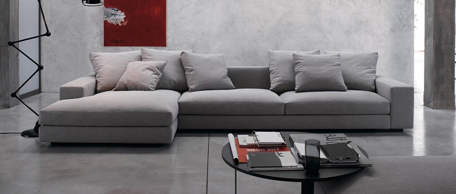 Long Chaise Sofas Throughout Preferred Sofas And Sofa Beds – Contemporary And Modern Furniture – London (View 4 of 10)