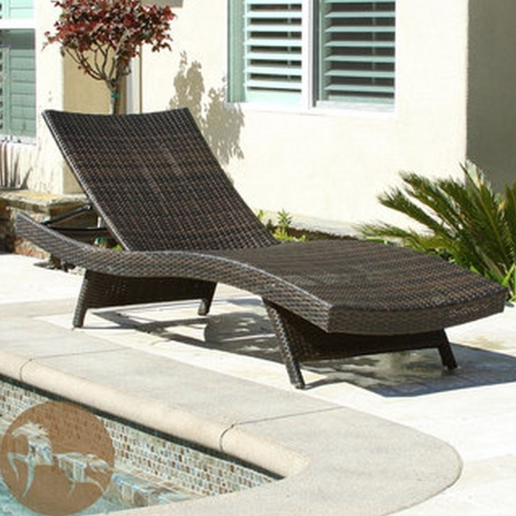 Lounge Chair : Gray Wicker Chaise Lounge Lounge Chairs For Bedroom With Famous Grey Wicker Chaise Lounge Chairs (View 8 of 15)