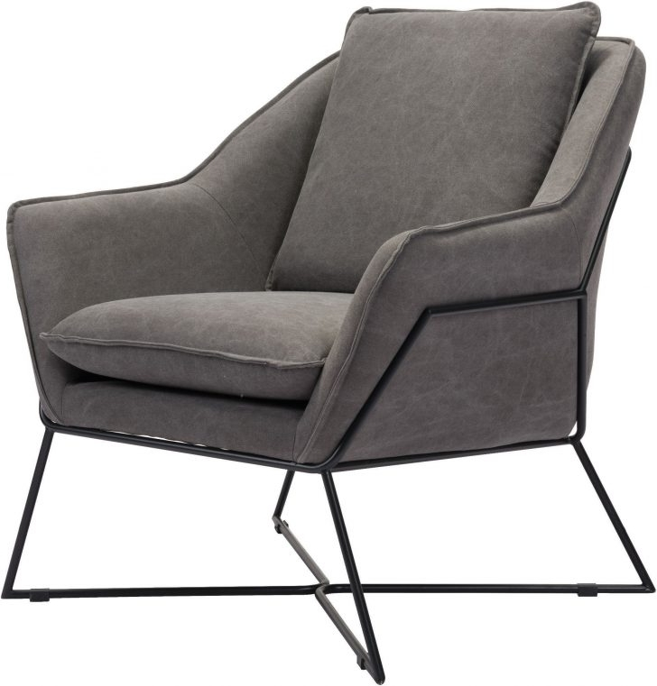 Lounge Chair : Grey Couch With Chaise Lounge Gray Accent Chair With Regard To Trendy Chaise Lounge Chairs Without Arms (View 12 of 15)
