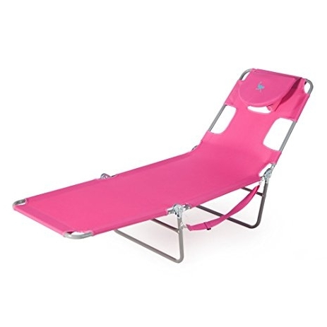 Lounge Chaise Chair By Ostrich Intended For Trendy Amazon: Ostrich Chaise Lounge, Pink: Garden & Outdoor (View 2 of 15)