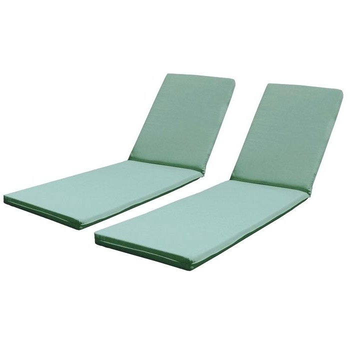 Lounge Pads Outdoor Chaises Outdoor Chaise Lounge Cushions Swan In Latest Outdoor Chaise Cushions (View 8 of 15)
