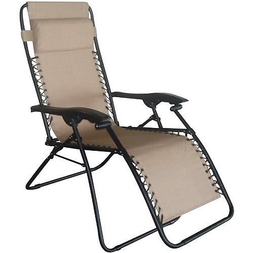 Lovable Folding Chaise Lounge Chair Beach Chair Folding Beach Inside Well Liked Chaise Lounge Folding Chairs (View 9 of 15)