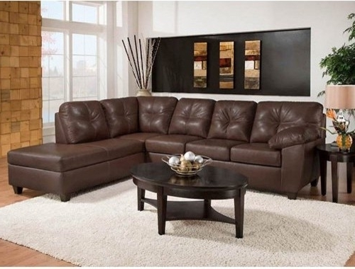 Lovely Leather Sectional Sofa Chaise 9 Best Leather Sectional Sofa Throughout Current Brown Leather Sectionals With Chaise (View 9 of 15)
