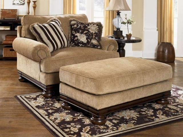 Loveseats With Ottoman In Fashionable Living Room: Awesome Loveseat And Ottoman Set Loveseat Sleeper (View 3 of 10)
