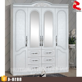 Low Cost Wardrobes Intended For 2018 Low Cost Nice Wooden Sample Bedroom Mirror Doors For Clothes (View 6 of 15)